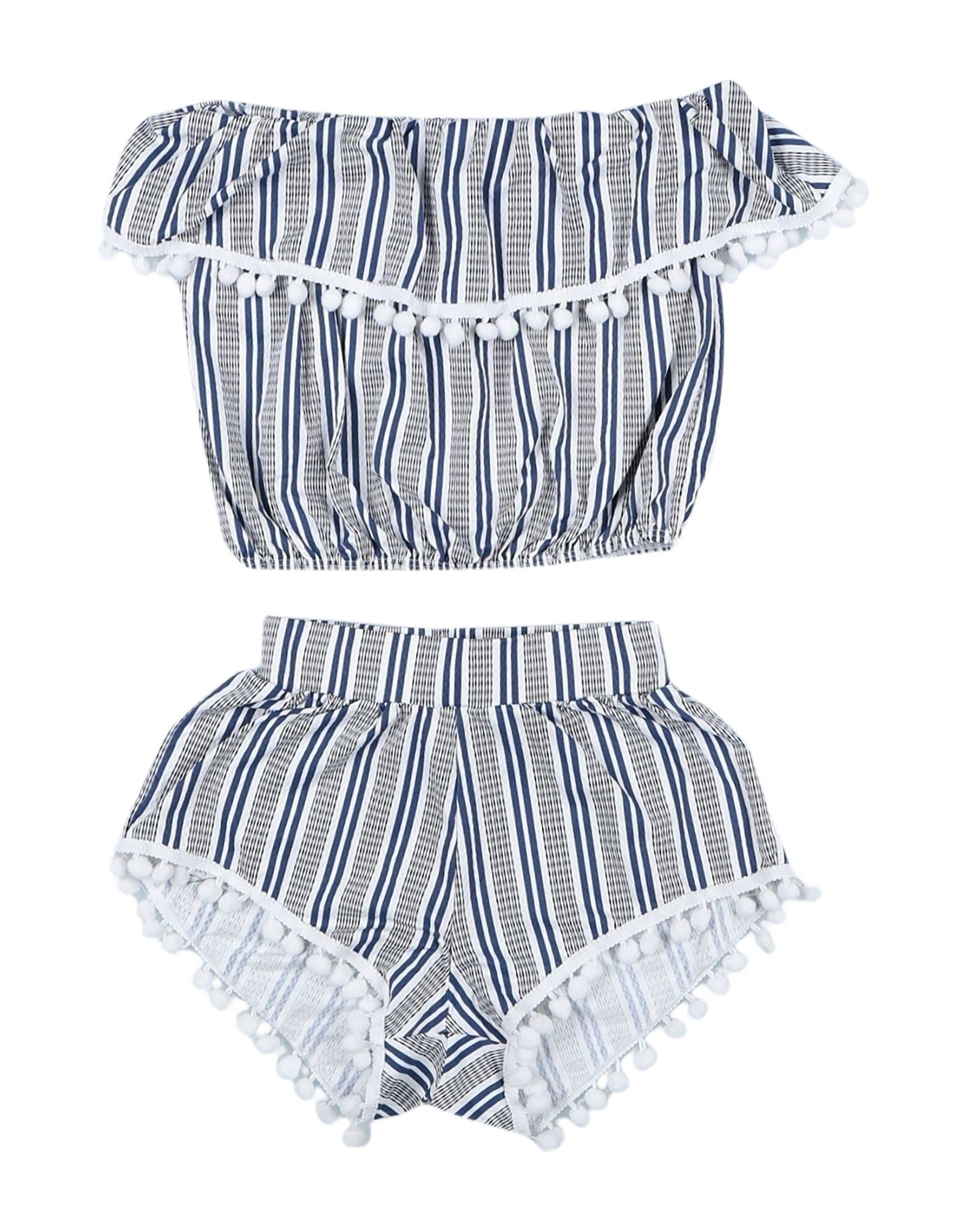 STELLA COVE Комплекты с шортами комбинезон с шортами в полоску без рукавов