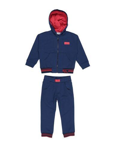 Купить Спортивный костюм от VERSACE YOUNG темно-синего цвета
