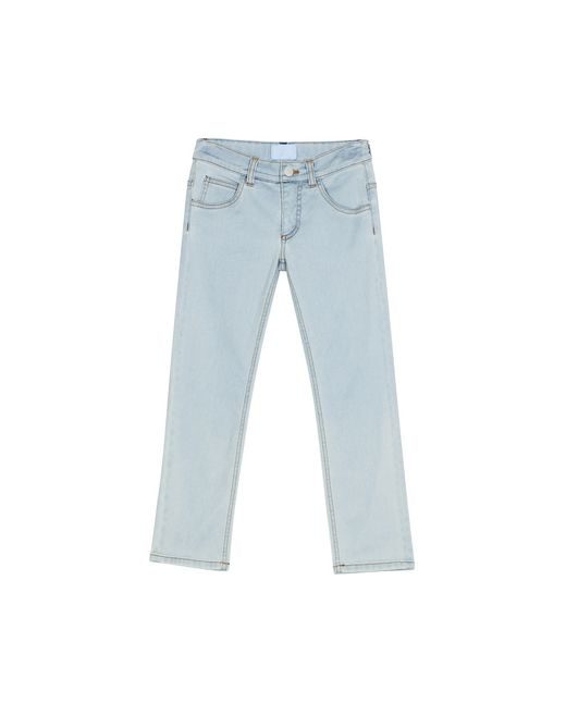 PANTALONI IN DENIM BLU - Lanvin