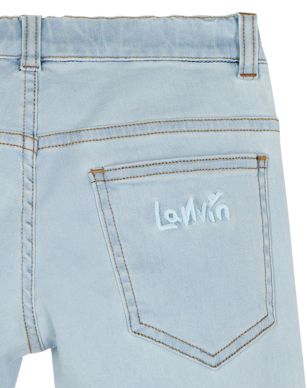 BLUE DENIM PANTS - Lanvin