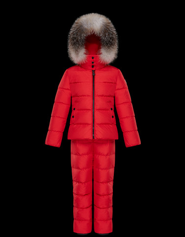 NANTUA Red Junior 8-10 Years - Girl Woman