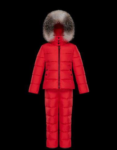 NANTUA Red Kids 4-6 Years - Girl Woman