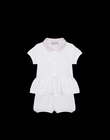 ALL IN ONE White Baby 0-36 months - Girl