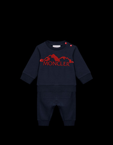 ALL IN ONE Dark blue Baby 0-36 months - Boy Man