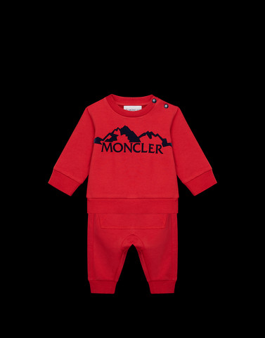ALL IN ONE Red Baby 0-36 months - Boy Man