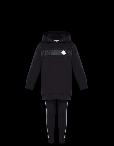 ALL IN ONE Black Junior 8-10 Years - Girl Woman