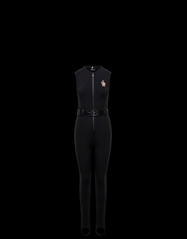 TRACKSUIT Black Grenoble Ski Suits Woman