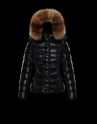 ARMOISE Black Short Down Jackets Woman