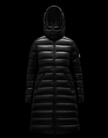 Moka Black Long Down Jackets