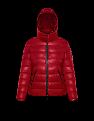 BADY Red Short Down Jackets Woman