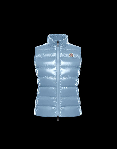 GHANY Sky blue Category Waistcoats Woman