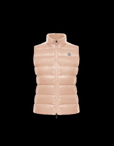 GHANY Salmon pink Category Waistcoats Woman