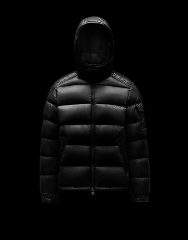 MAYA Black Down Jackets