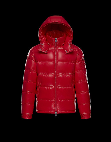 MAYA Red Down Jackets