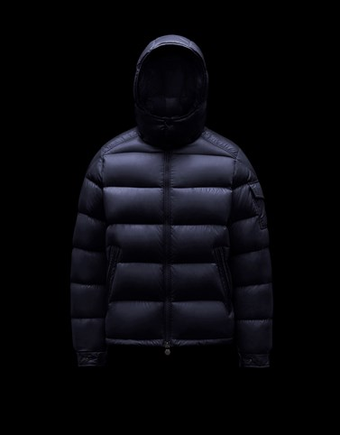 MAYA Dark blue Down Jackets