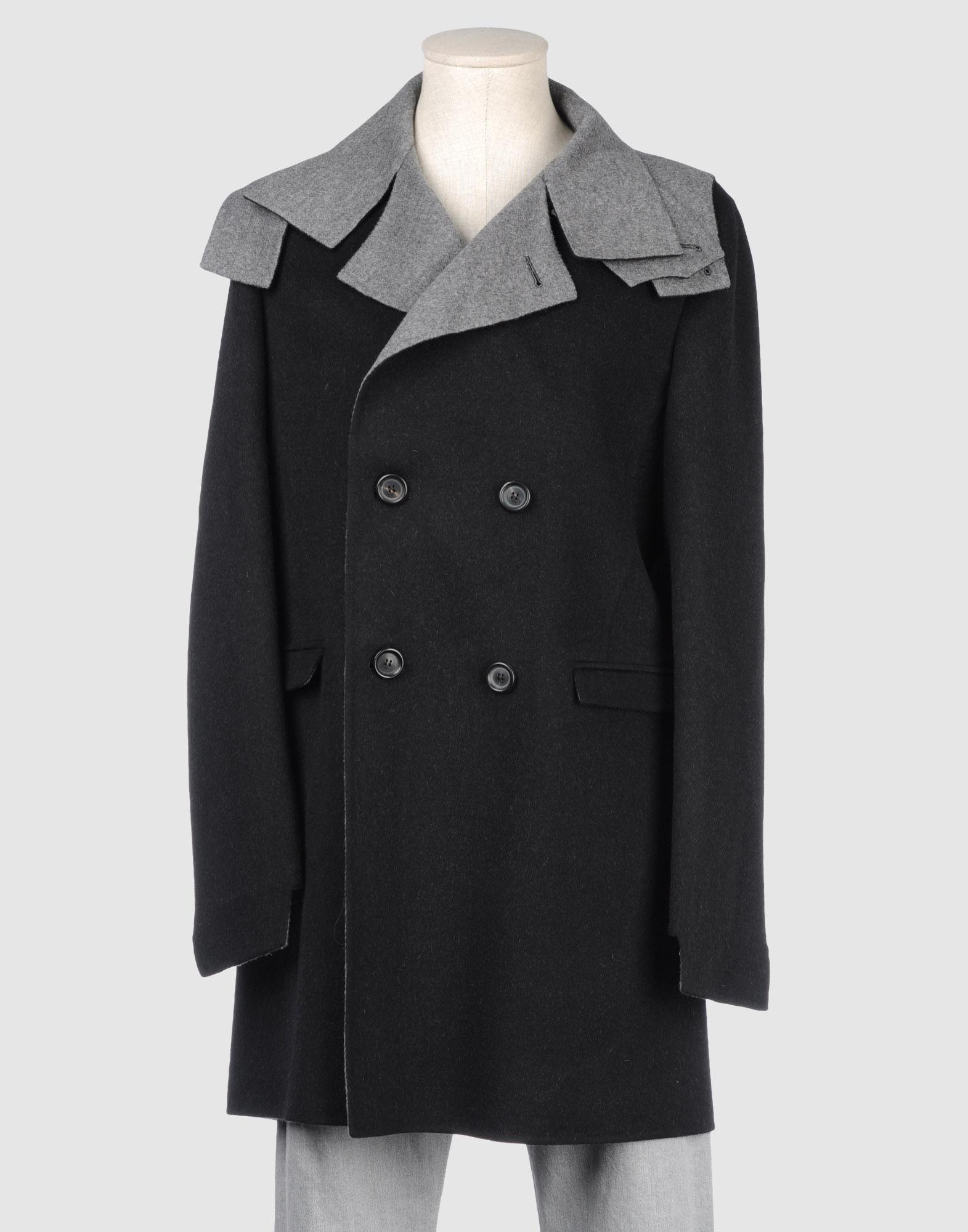 GIULIANO FUJIWARA Mid-Length Jacket in Black