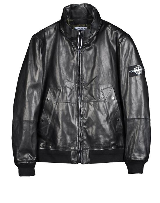 Leather Jacket  STONE ISLAND - 0