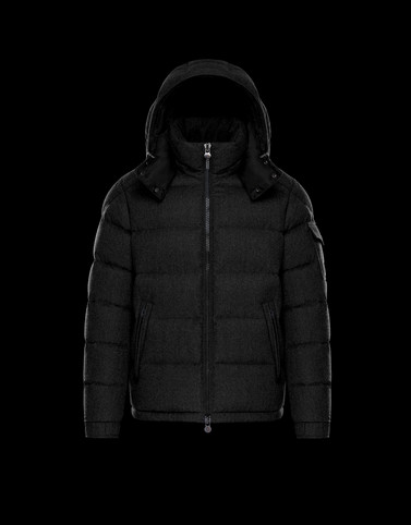 MONTGENEVRE Black Category Outerwear Man