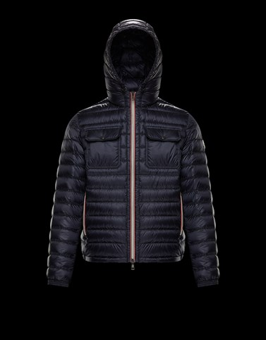 DOURET Dark blue Down Jackets