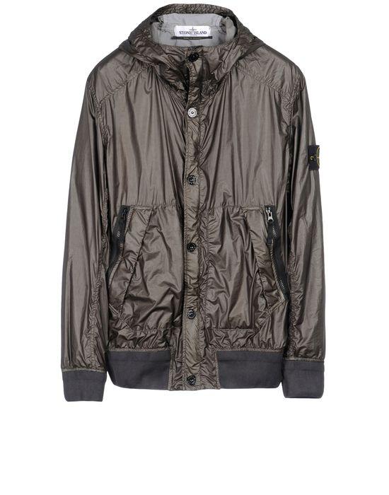 Mid-length jacket 44B34 GLASS STONE ISLAND - 0