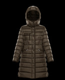 MONCLER HERMINE - Long outerwear - women