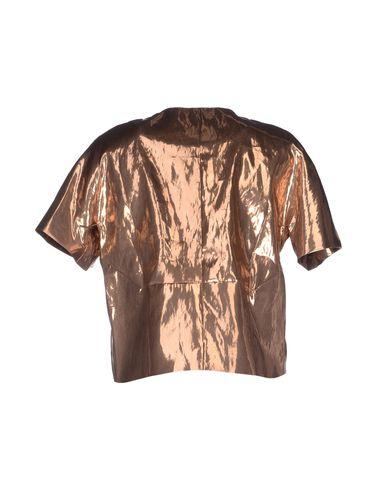 Фото 2 - Женский пиджак  цвет медный