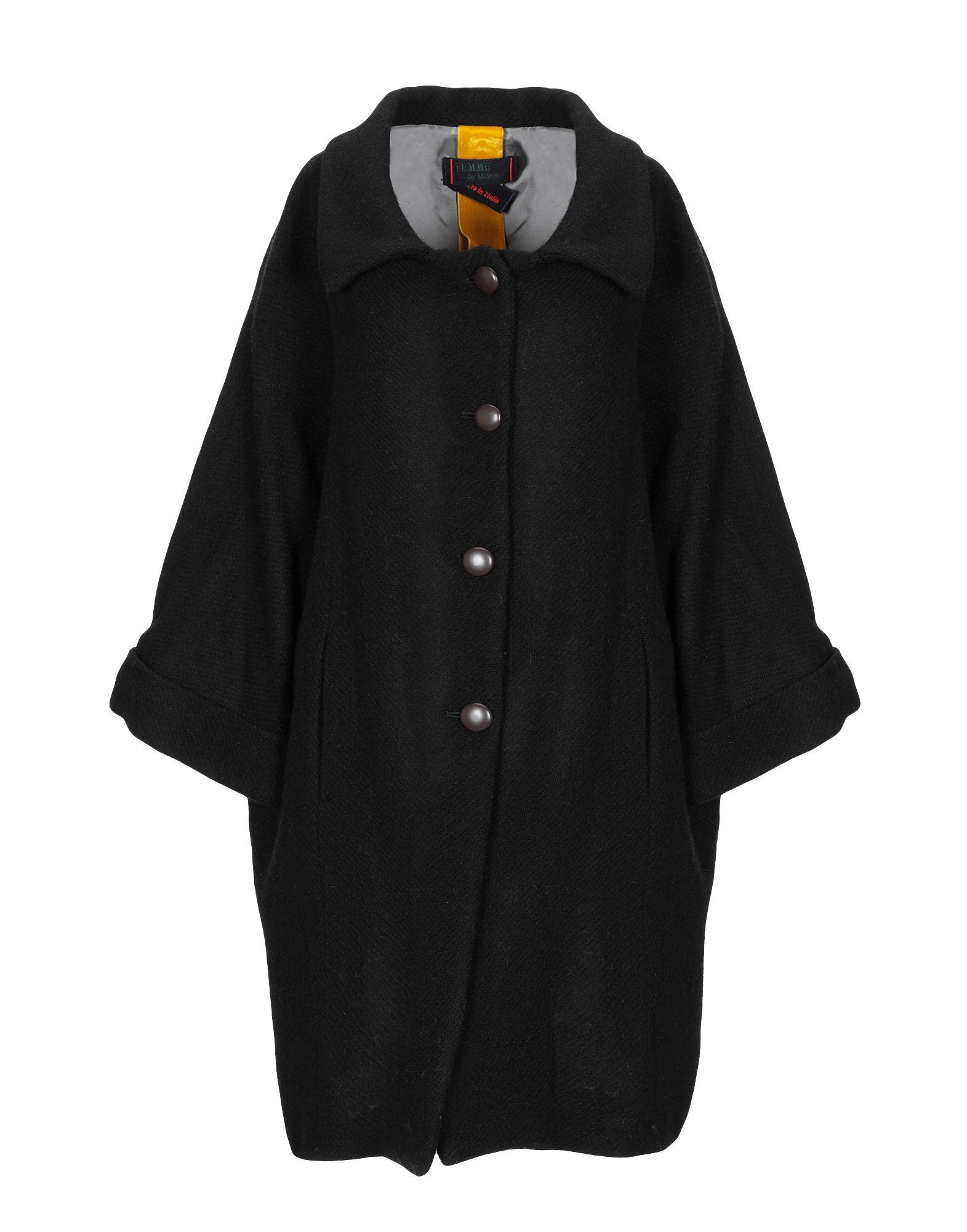 FEMME by MICHELE ROSSI Пальто цены онлайн