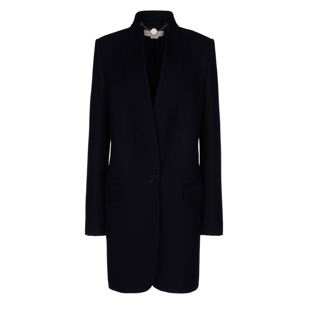 Bryce Melton Wool-Blend Coat, Ink