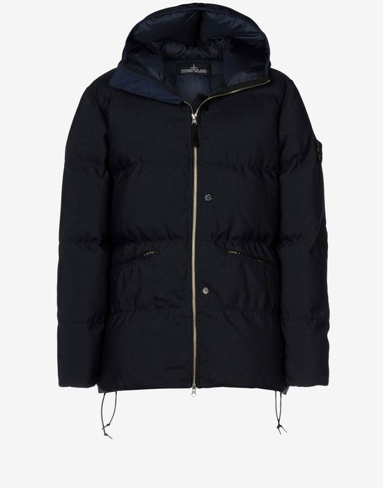 Mid-length jacket 40604 DOWN JACKET _ HOLLOWCORE PL STONE ISLAND SHADOW PROJECT - 0