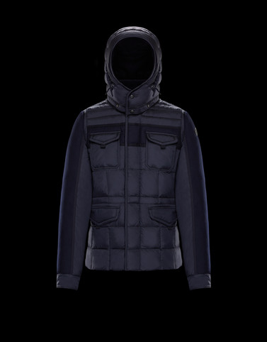 JACOB Dark blue View all Outerwear