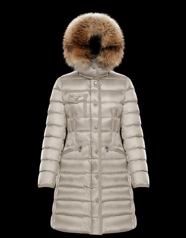 MONCLER HERMIFUR - Long outerwear - women