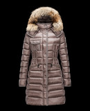 MONCLER HERMIFUR - Long outerwear - women