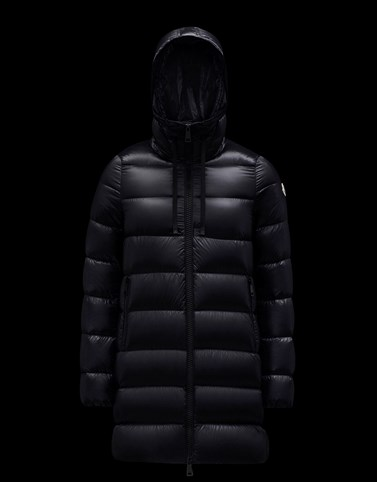 SUYEN Black Long Down Jackets