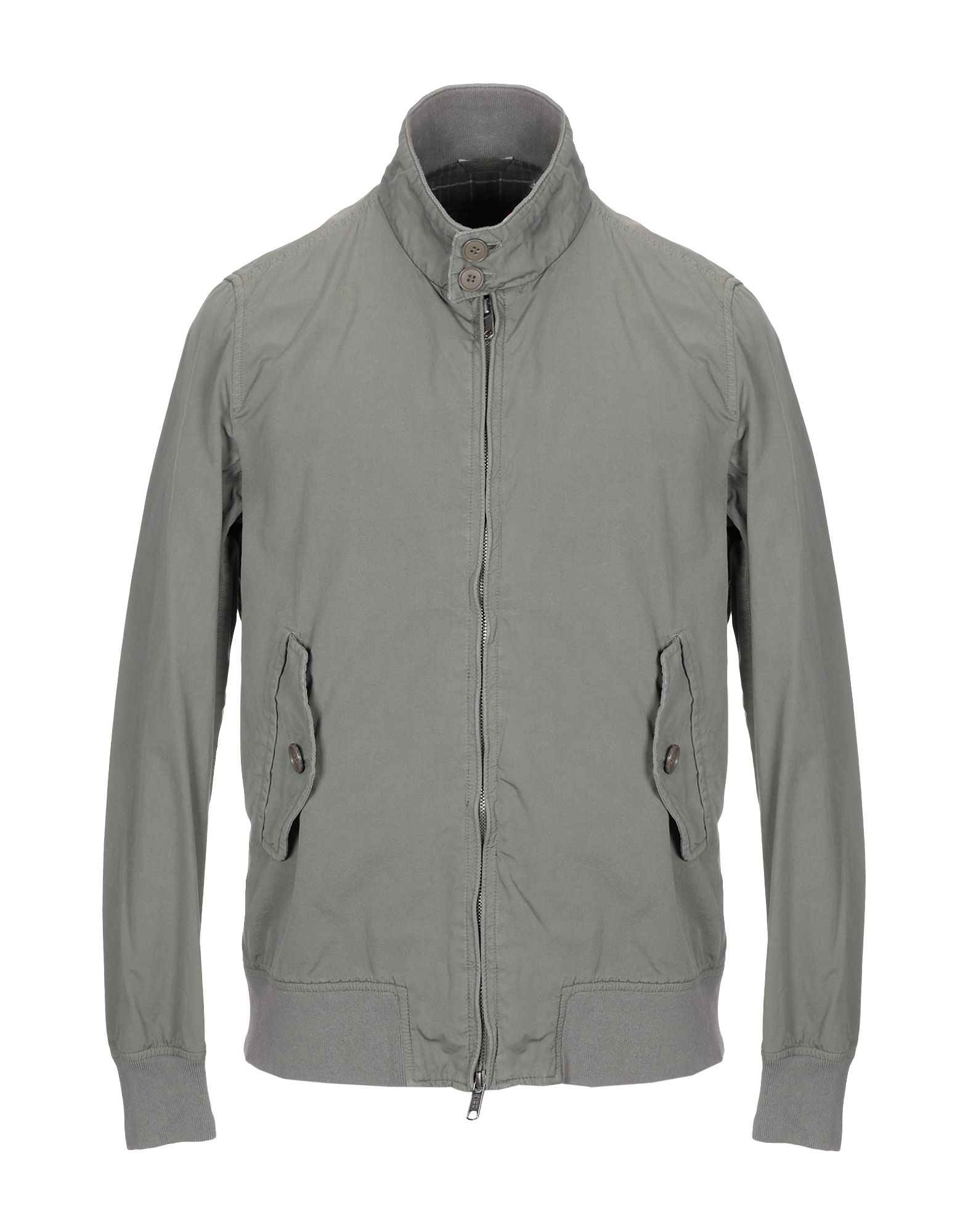 BARACUTA Jackets in Military Green