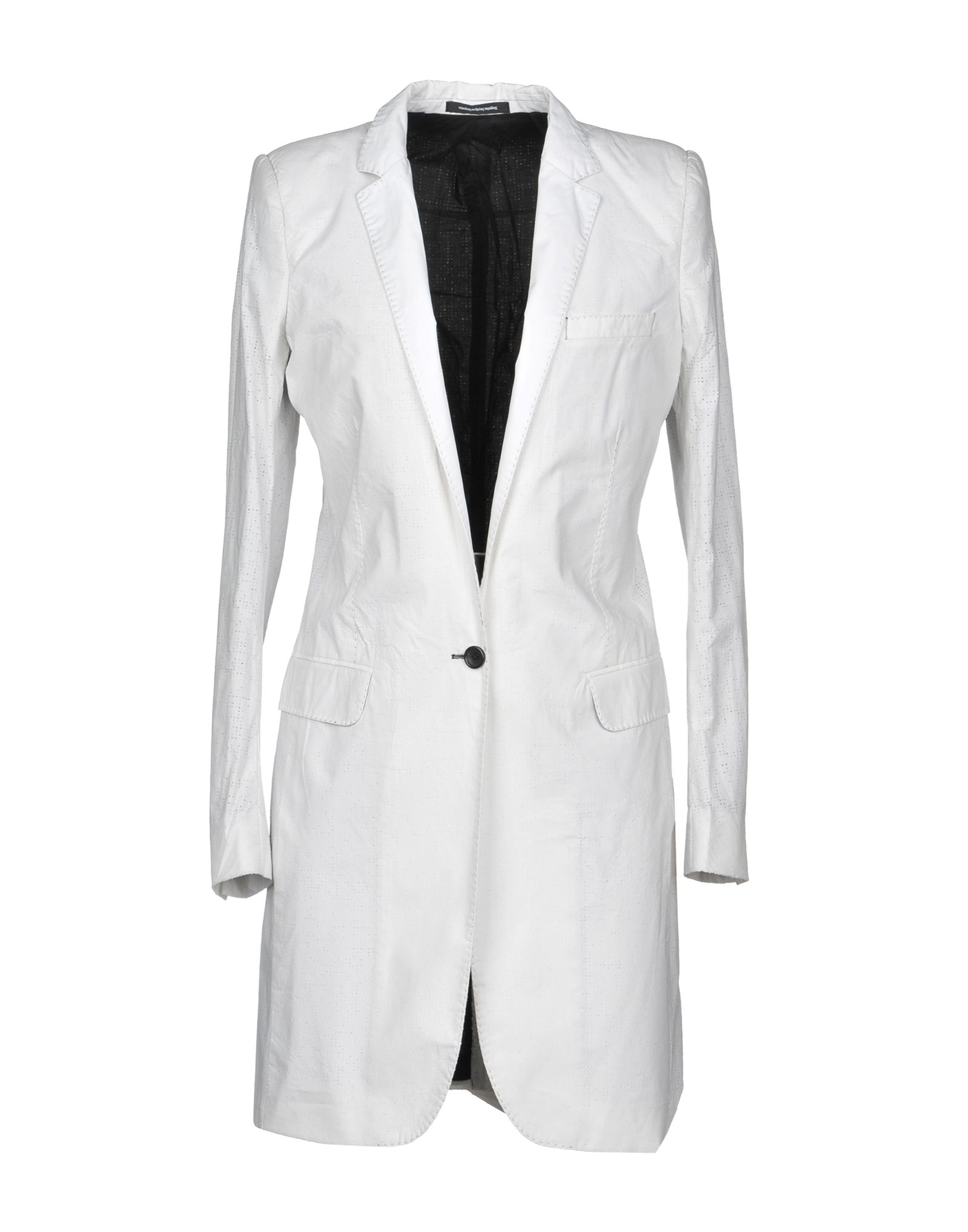 NICOLAS ANDREAS TARALIS Coat in White