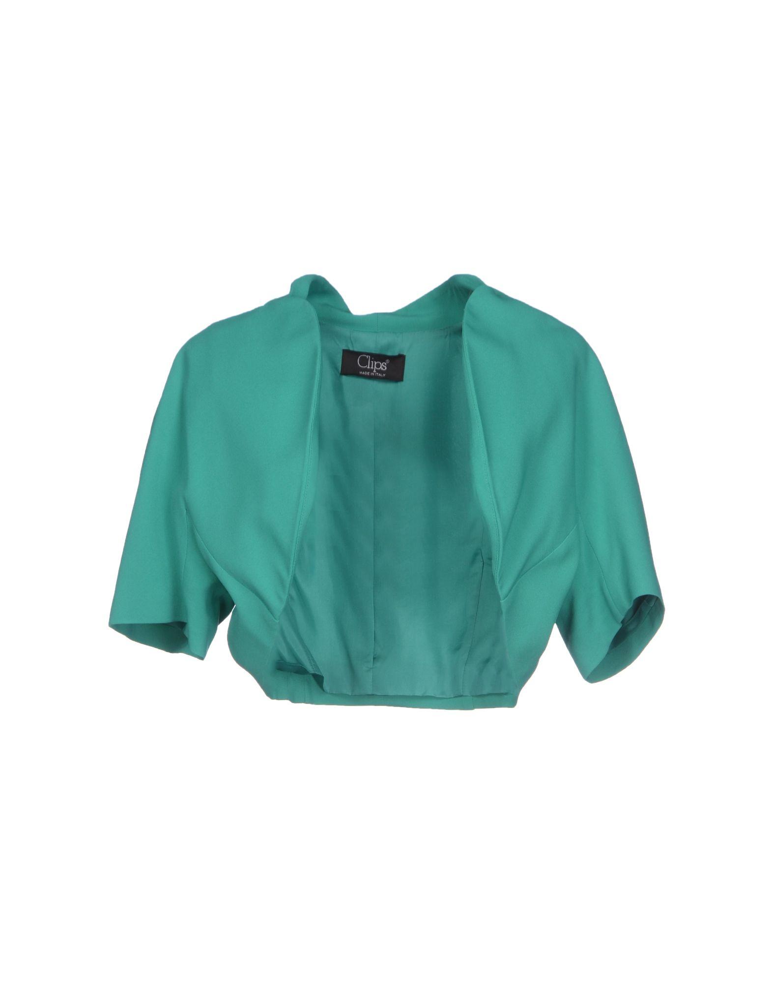CLIPS Damen Bolero Farbe Grün Größe 7