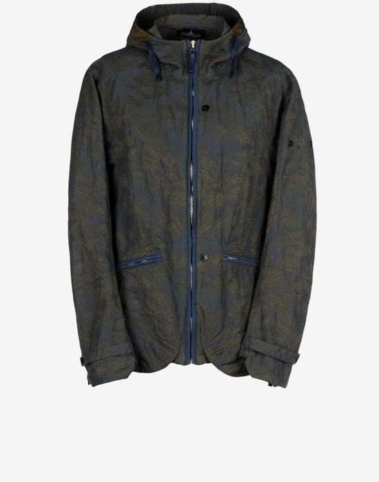 Jacket 40404 CAGOULE _ DPM GRID JACQUARD STONE ISLAND SHADOW PROJECT - 0