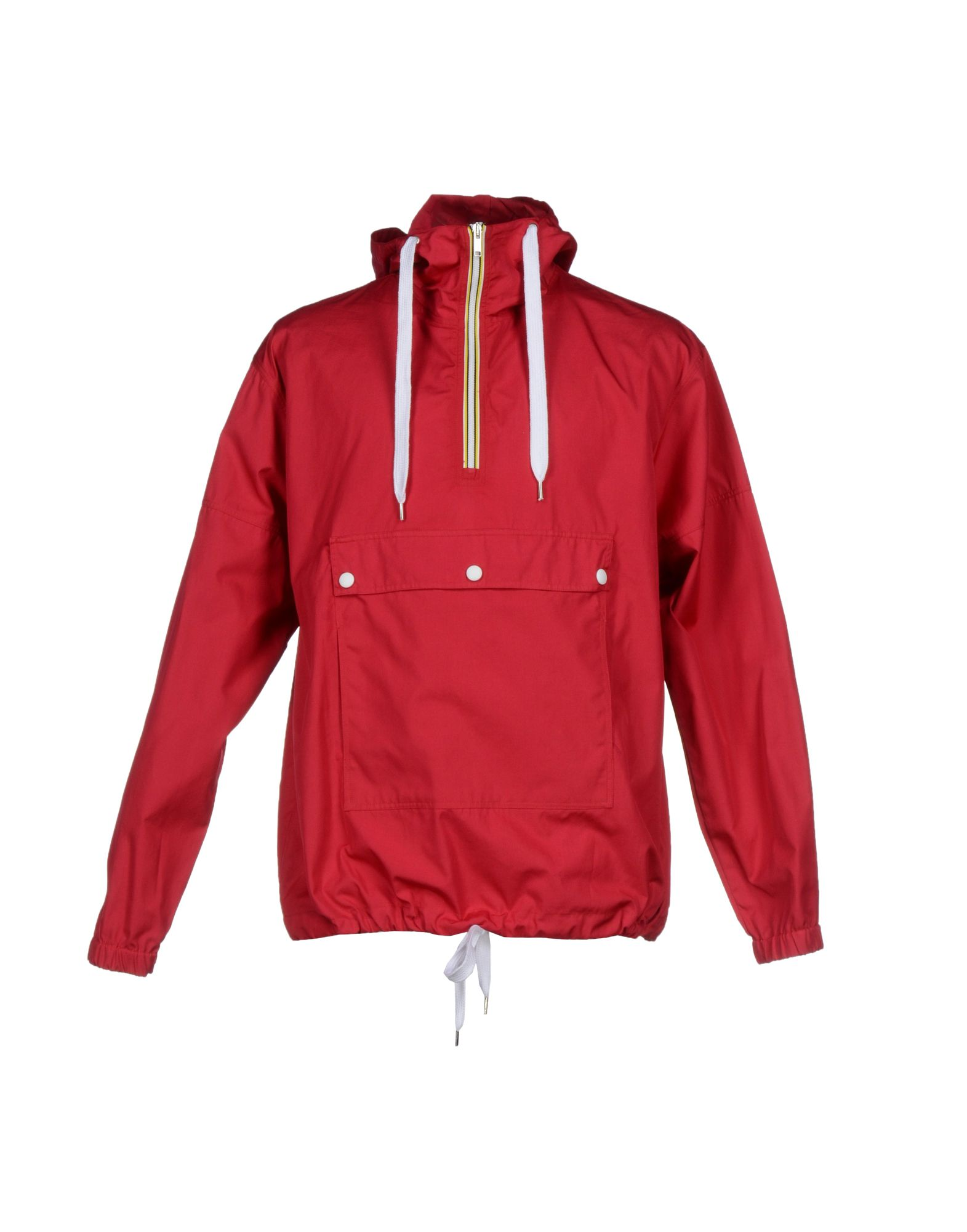KRIS VAN ASSCHE Jacket in Red