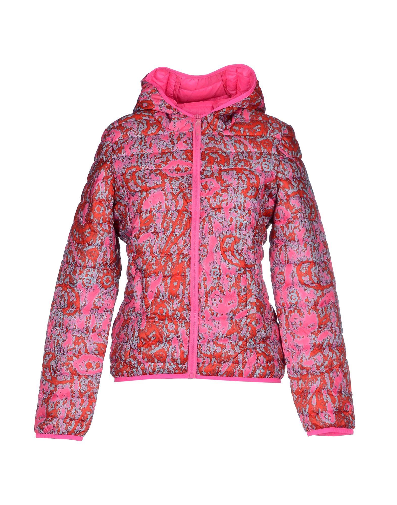 CND Куртка cnd цвет plum paisley