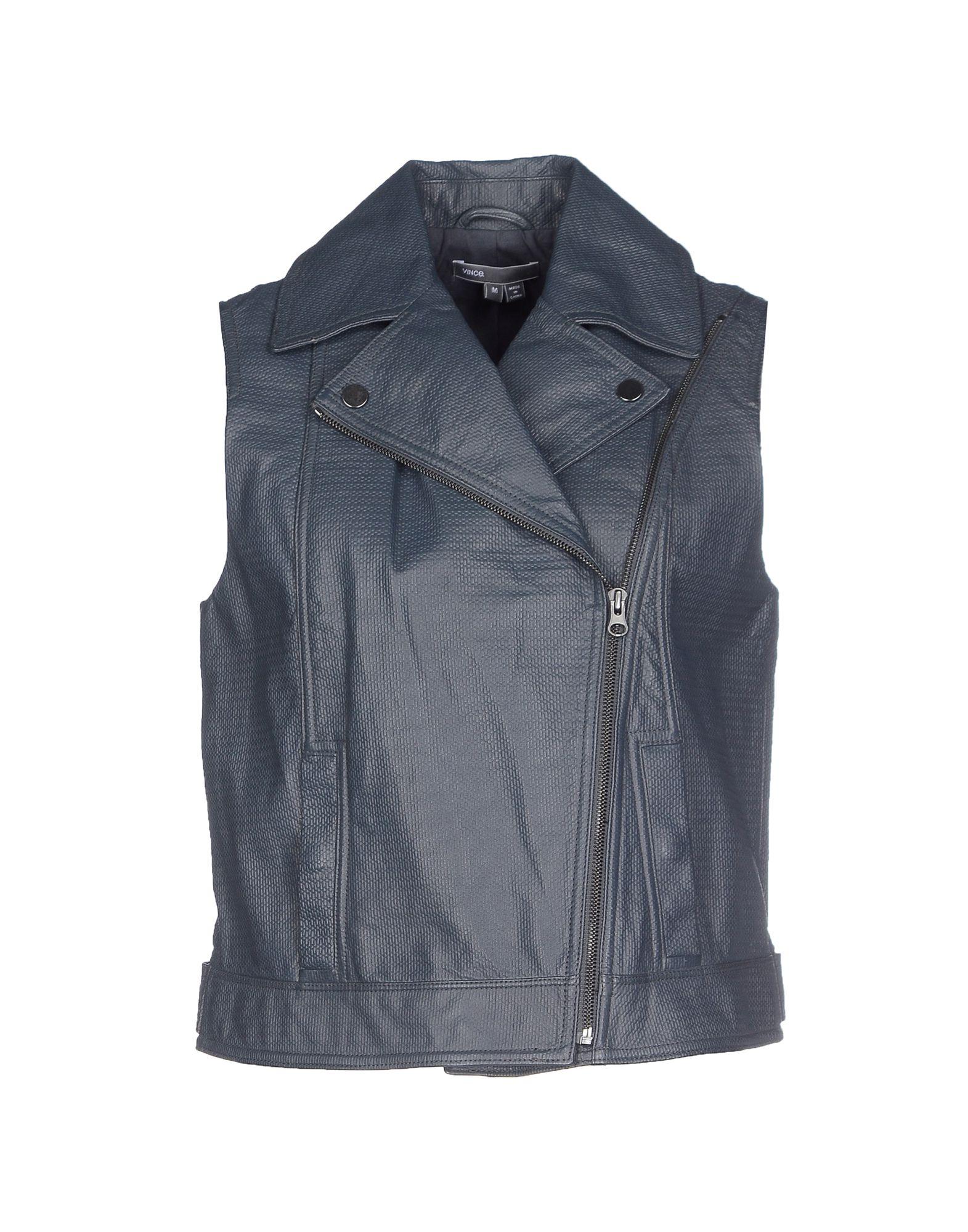 VINCE. Куртка платья с принтами