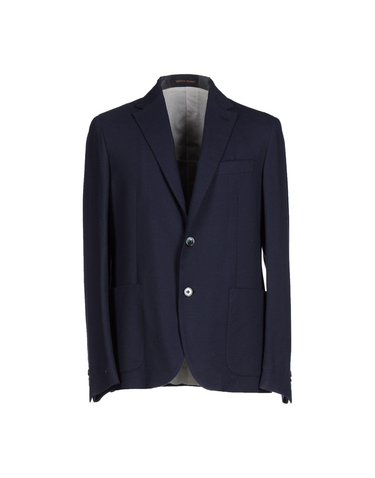 ROYAL HEM Blazer in Dark Blue