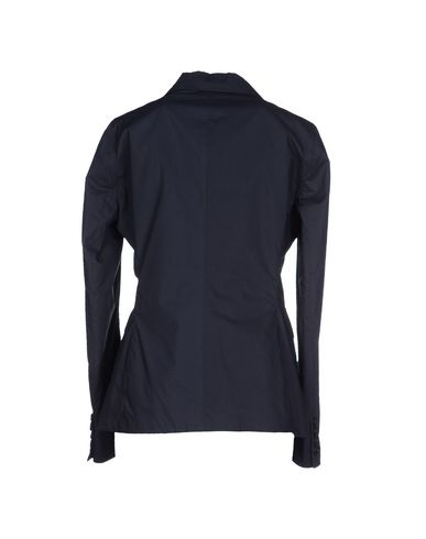 Фото 2 - Женский пиджак ASPESI темно-синего цвета