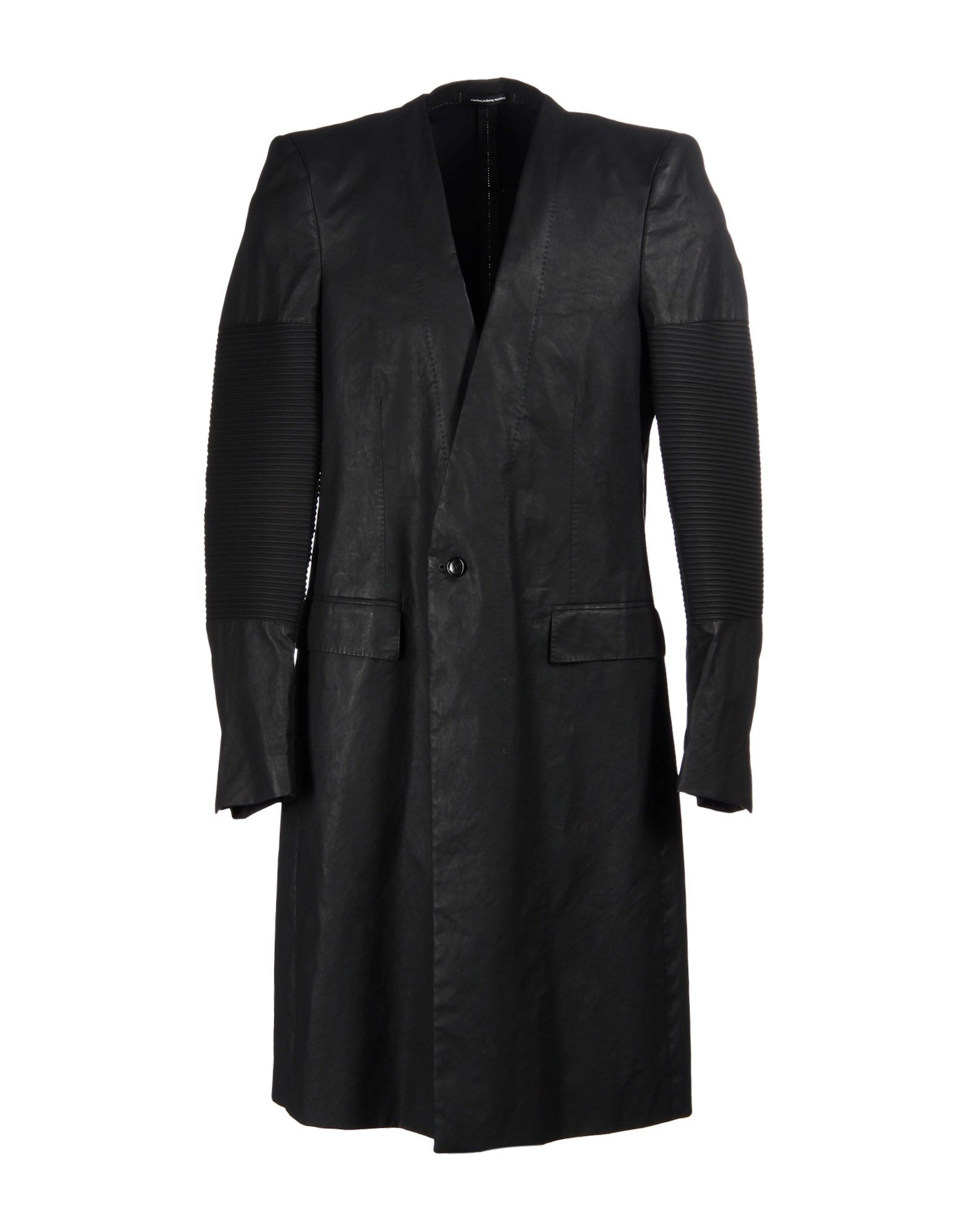 NICOLAS ANDREAS TARALIS Full-Length Jacket in Black