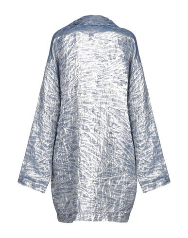 Фото 2 - Легкое пальто от JIJIL грифельно-синего цвета