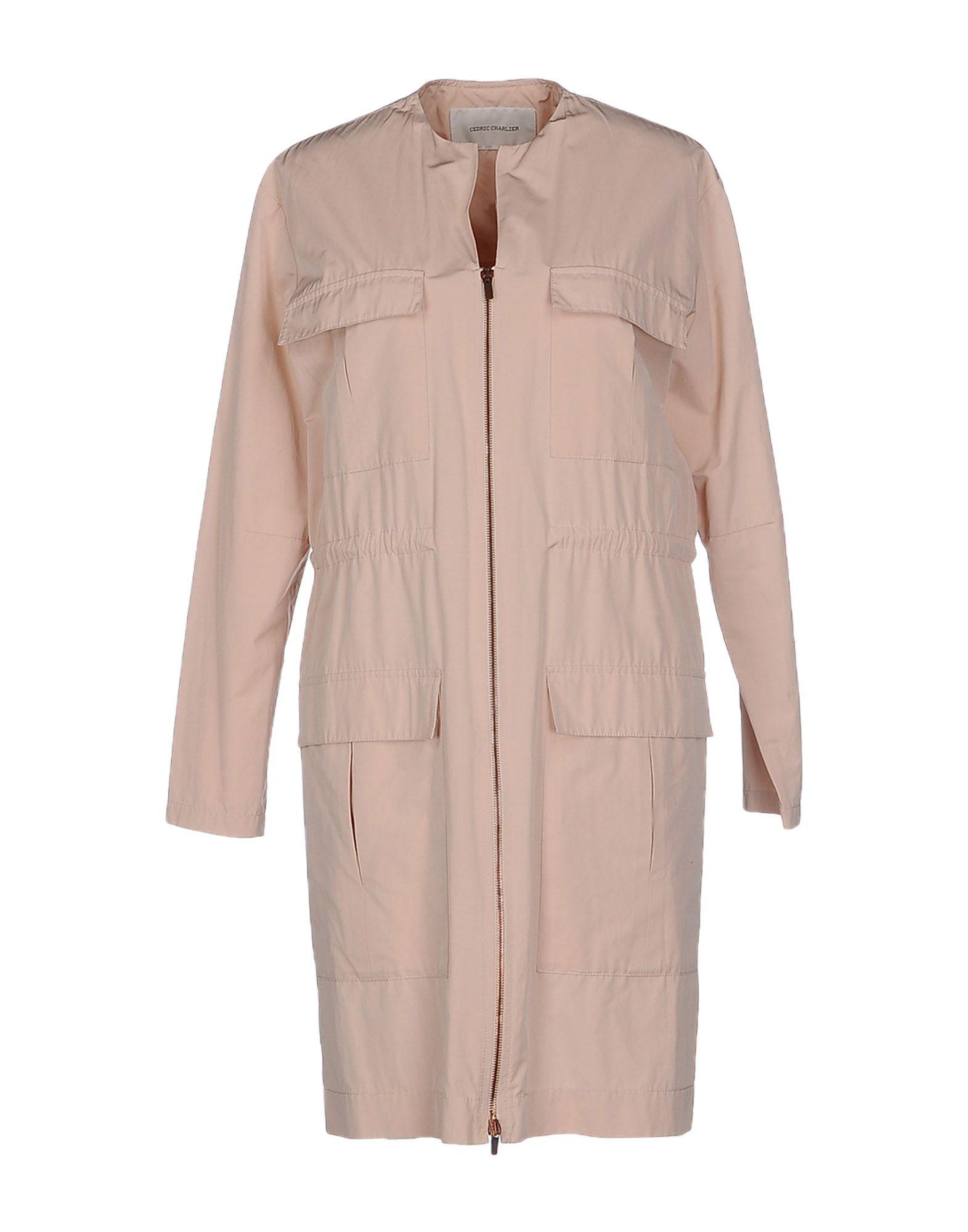 CEDRIC CHARLIER Легкое пальто cedric charlier пальто