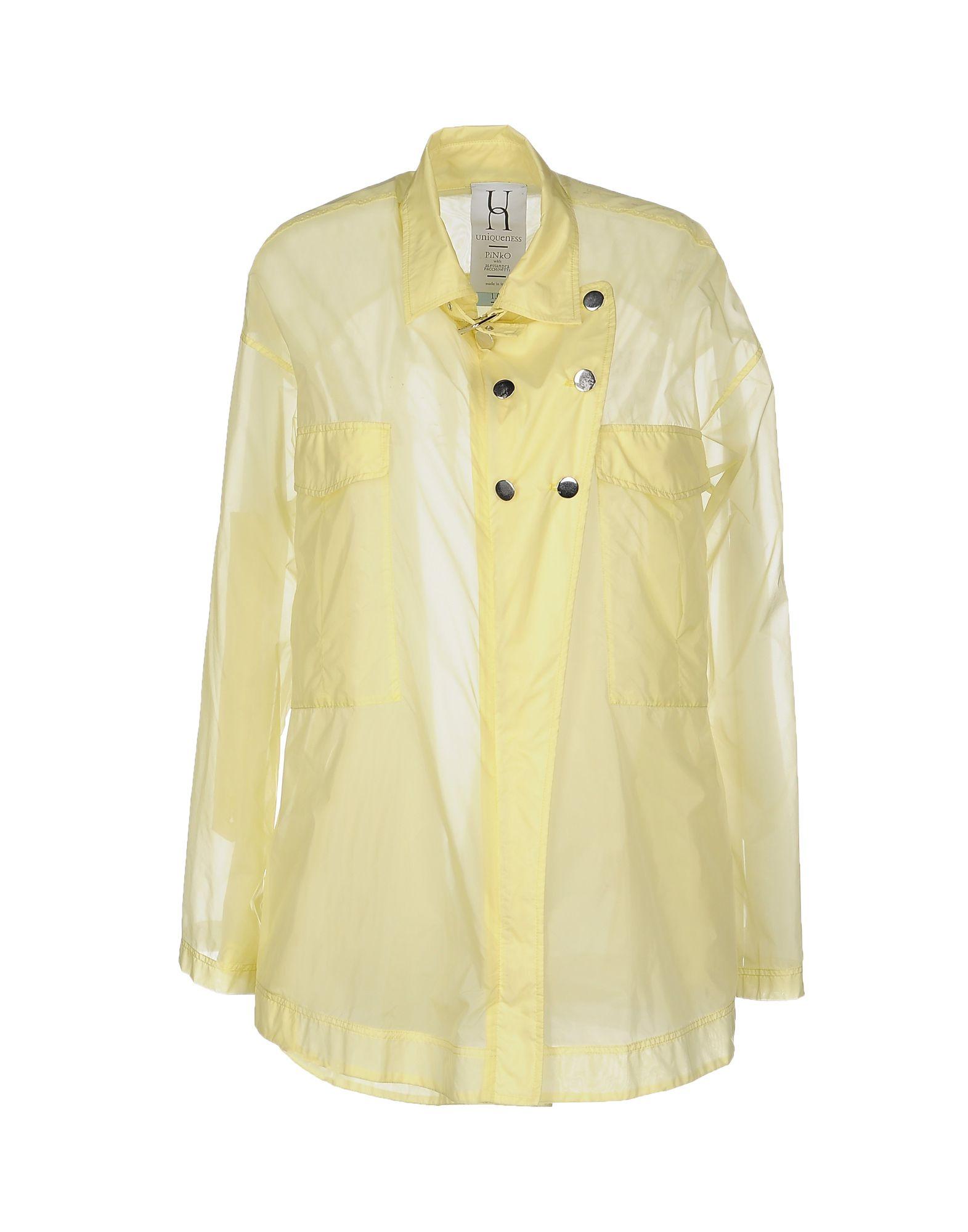 PINKO UNIQUENESS Легкое пальто пальто pinko 1g12sc 6527 g43