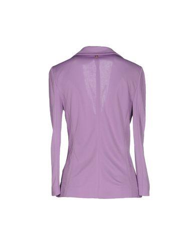 Фото 2 - Женский пиджак  сиреневого цвета