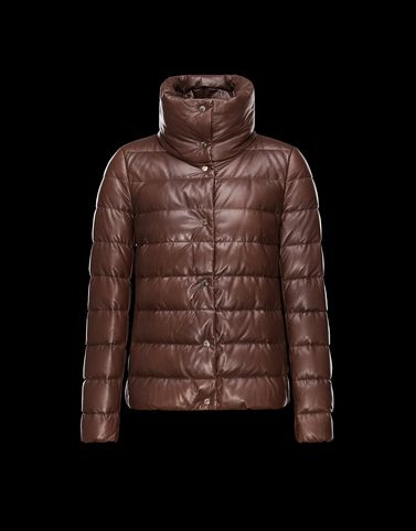 Moncler Leather outerwear D PLESY