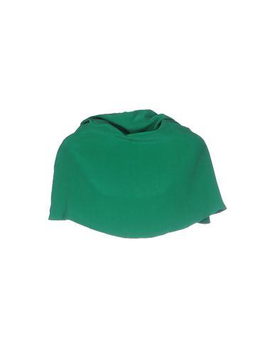 Фото 2 - Накидка от DOUUOD зеленого цвета