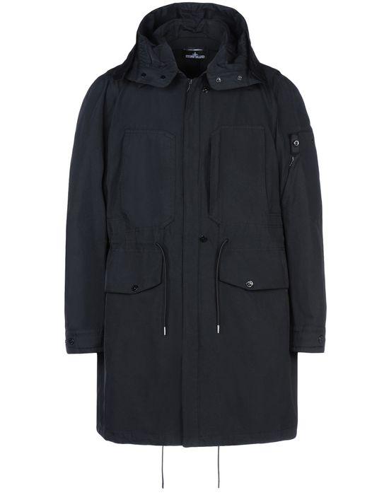 Full-length jacket 70405 FISHTAIL PARKA _ DIAGONAL POLYESTER - NYLON STONE ISLAND SHADOW PROJECT - 0